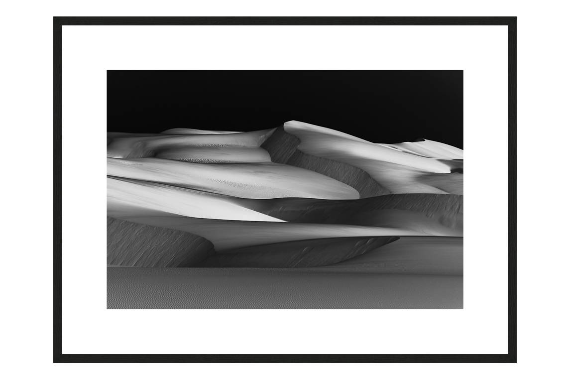 Hot Glacier with frame, DUNES Unveiled Beauties Series, Nik Barte