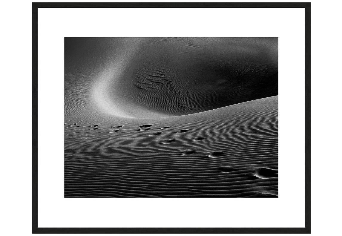 The Only Way To Truth with frame, Desert Stories Series (Photo Edition), Nik Barte