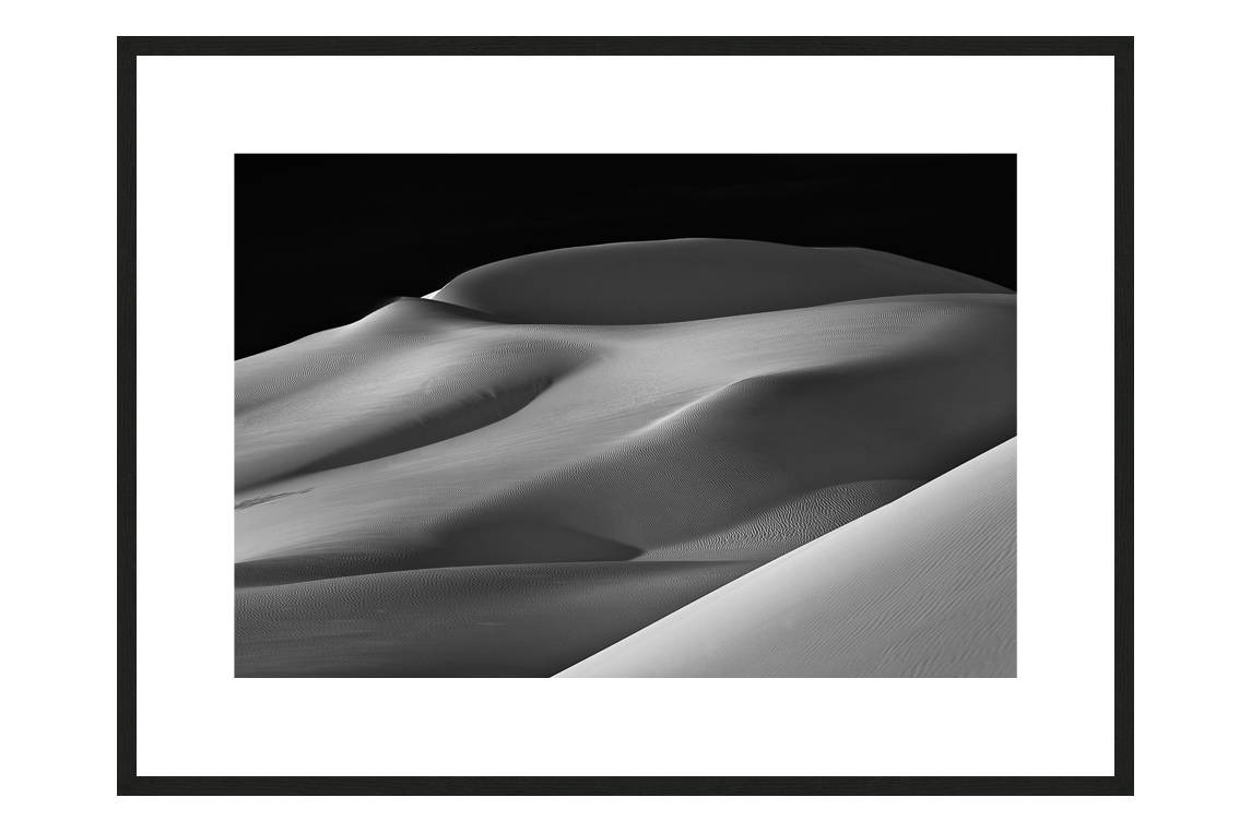 Sailing The Sand Sea with frame, DUNES Unveiled Beauties Series, Nik Barte